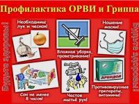 Внимание! Для Вас, родители! Профилактика гриппа и ОРВИ