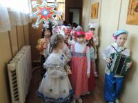 """Фольклорный праздник в детском саду """"Пришла Коляда - отворяй ворота!"""""""